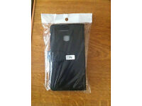 HUAWEI P9 BLACK LEATHER FLIP PHONE CASE - NEVER USED---