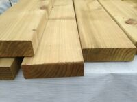 Treated C16 Graded Construction Timber (147mm x 47mm x 4.8m)