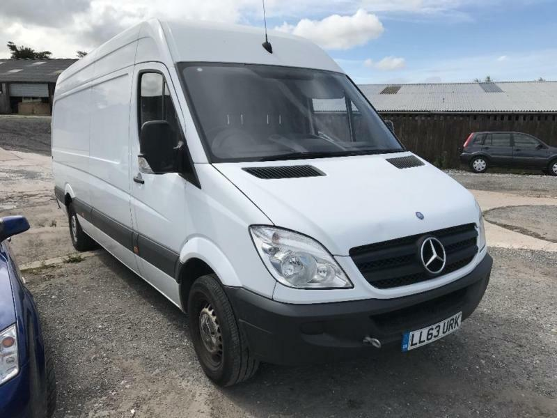 MERCEDES SPRINTER 313 CDI LWB, White, Manual, Diesel, 2013