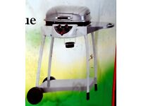 New Wheeled Gas Barbecue 2 Burner with side table. Hose and regulator included