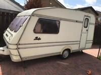 Rallye compass 2 berth caravan lovely order quick sale £550