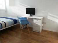 Modern City Centre Double Bedroom (bills inc.)