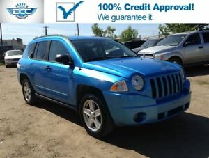2008 Jeep Compass 2.4L 4 cyl. 4x4!! Excellent On Fuel!! SALE!!