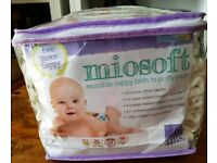 Bambino Mio two piece nappies birth to potty pack