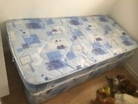 Single bed and mattress used handful of times £40