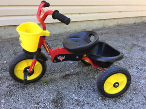 Kids Tricycle-Cars Theme