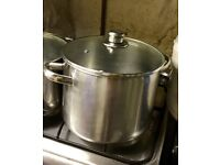 Small saucepan 18cm high. 25cm diameter