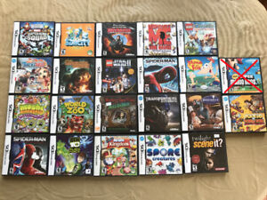 Lot of 21 Nintendo DS games