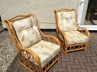 Good condition conservatory chairs