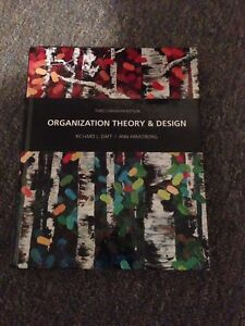 Organizational Theory and Design Textbook