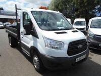 Ford Transit T350 MWB S/CAB TIPPER TDCI 100PS DIESEL MANUAL WHITE (2014)