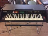 Eko Encore 49-P Analogue Piano and drum machine.
