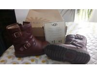 Girls leather UGG Boots