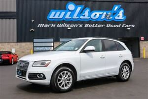 2013 Audi Q5 2.0 TURBO! LEATHER! $82/WK, 4.74% ZERO DOWN! NEW T