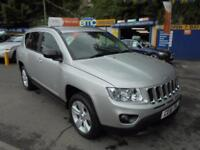 2011 61 JEEP COMPASS 2.2 CRD SPORT PLUS IN SILVER # ONE OWNER LOW MLS #