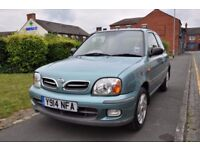 NISSAN MICRA 1.0 16V S 3DR PETROL ( PART SERVICE HISTORY)
