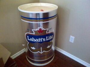Vintage Labatt's Lite Beer Tub