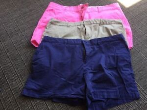 3 pairs of size 18 shorts