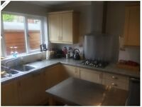 Shaker Style Kitchen With Double Oven, Gas Hob, Extractor & Sink Unit