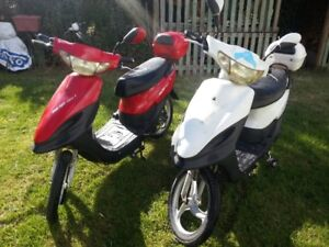 2 raylight electric bikes  no plateor lience needed has new batt