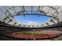 IAAF World Championships - (FACE VALUE TICKETS) Sunday 13th August