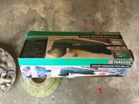 Parkside Delta Sander 290watts. In used condition ,with original box, with some spare sanding disks