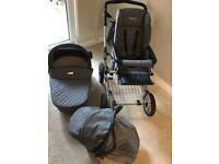 Baby style pram serenity grey(still for sale for £700