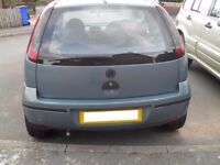 VAUXHALL CORSA C REAR TAILGATE GLASS 01 02 03 REG USED ( FITTING AVAILABLE )