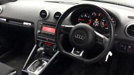 2009 Audi A3 2.0 TDI Black Edition 2dr S Tr Automatic Diesel Cabriolet