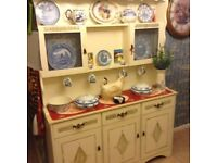 Shabby sheik kitchen unit