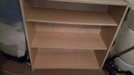 Fully assembled Bookshelf for sale.