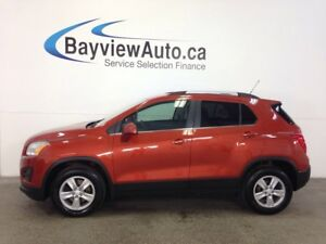 2015 Chevrolet TRAX LT- TURBO! AWD! A/C! ON STAR! CLEAN TRADE!