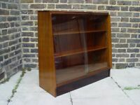 FREE DELIVERY Retro G Plan Bookcase With Glass Doors Vintage Furniture