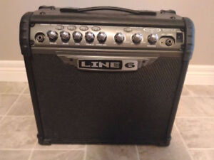 Line6 Spider III 15 watt Amplifier with Onboard Effects