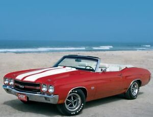 1968 to 1972 CHEVELLE CONVERTIBLE WINTER PROJECT WANTED