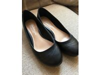 Smart work size 6 women's shoes black