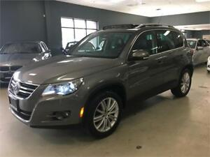 2009 Volkswagen Tiguan Highline*LEATHER*PANO*LOW KM*