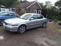 Jaguar x-type 2.1 classic 4 door low Millage manual