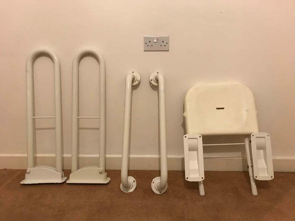 Disabled bathroom and toilet set (Almost New)