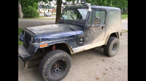1994 Jeep YJ as is