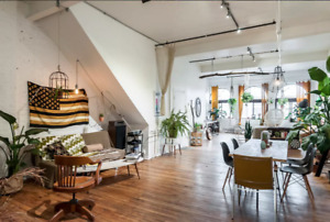 Huge Artist loft 2000 pc2, Plateau Mont-Royal