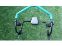 Pull up exerciser for flat stomach 6 pack