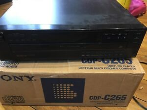 Sony CD 5 Disc Changer with Box