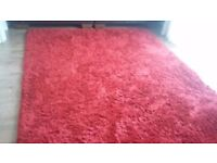 Very Large Red Rug