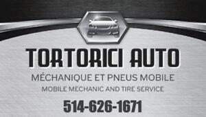 TORTIRICI AUTO - mécanicien et pneus à domicile