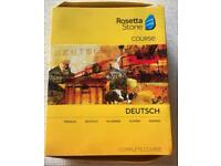 Rosetta Stone - German