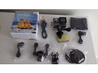 New boxed Kitvision Escape HD5 720p Waterproof Action Camera with Mounting Accessories