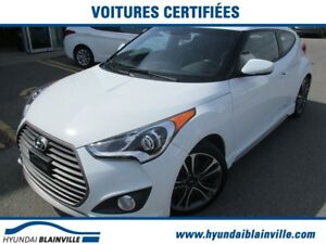 2016 Hyundai Veloster 1.6T TURBO, NAVI, MAGS, TOIT, CUIR, SYS SO