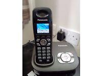 Panasonic telephone with answering machine