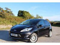 FORD Fiesta 1,4 petrol TITANIUM, 5 door, BLACK
